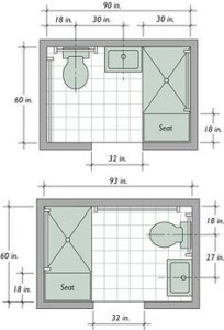 2nd Bathroom Plans