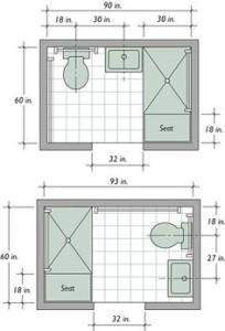 2nd Bathroom Plans