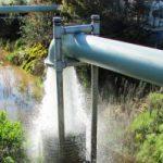 Back Flush Pit at MPWMD ASR Site