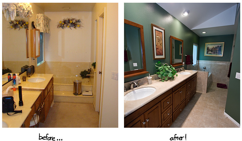 Remodels and additions monterey peninsula water for Fast bathroom remodel