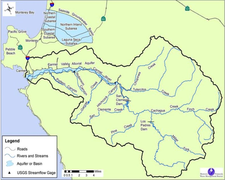 Carmel River Basin Monterey Peninsula Water Management District